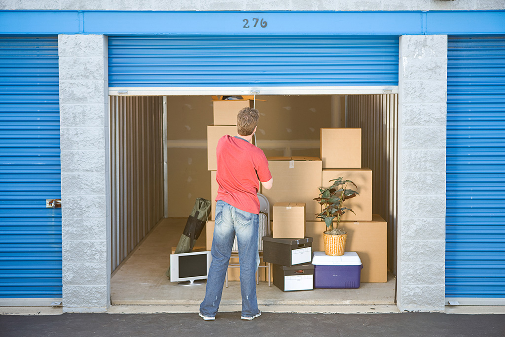 How to Organize Stuff in a Self-Storage Unit